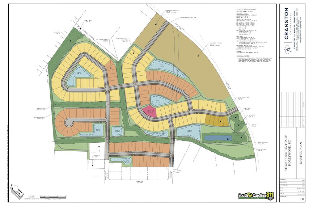 Charleston site plan